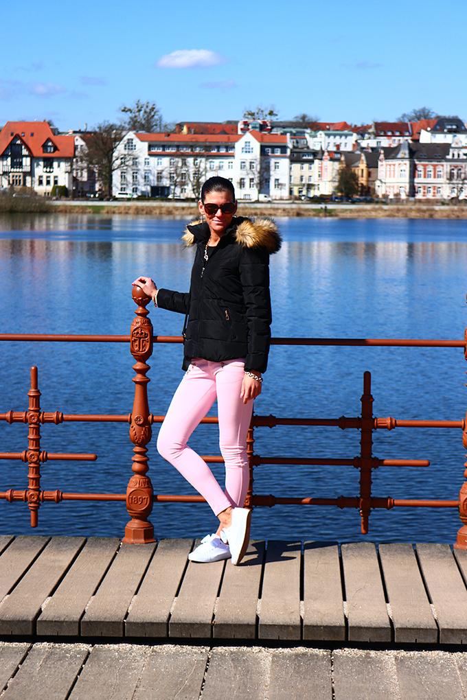 Auf der Brücke beim Schloss Schwerin