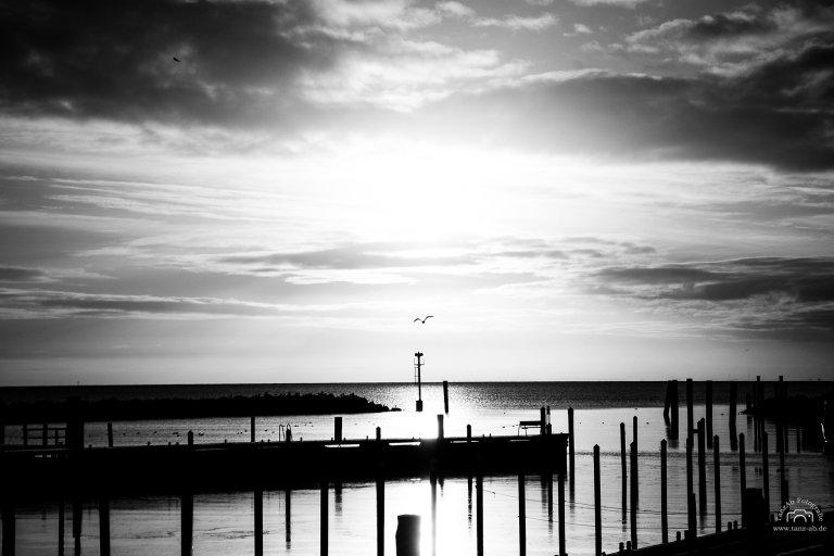 Ostsee schwarz weiß