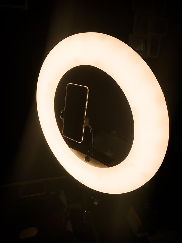 Rollei Ringlicht mit Iphone XS